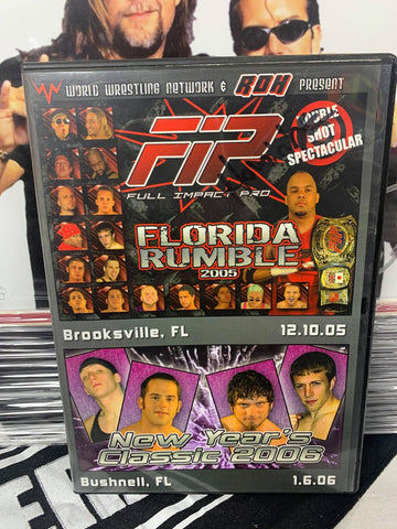 FIP (Full Impact Pro) Florida Rumble 2005 12/10/05 & New Year's Classic 2006 DVD