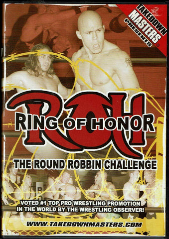 Ring of Honor The Round Robin Challenge DVD 2004 OOP Takedown Masters