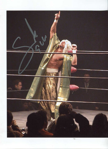 Sabu Pose 2 Signed Photo COA