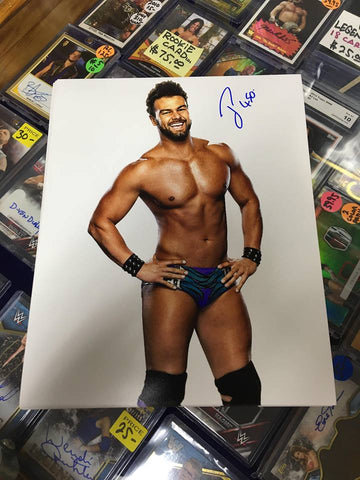 Justin Gabriel Pose 2 Signed Photo COA