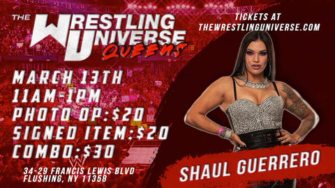 In-Store Meet & Greet with Shaul Guerrero Sat March 13th from 11AM-1PM TIX NOT MAILED (CHOOSE COMBO $30/SIGNED ITEM $20/PHOTO OP $20)