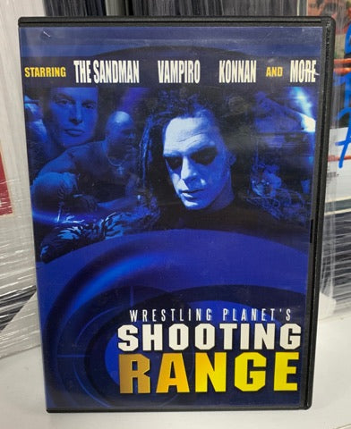 Wrestling Planet's Shooting Range DVD (starring ECW's Sandman)
