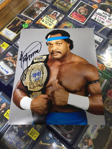 Ron Simmons Signed Photo COA