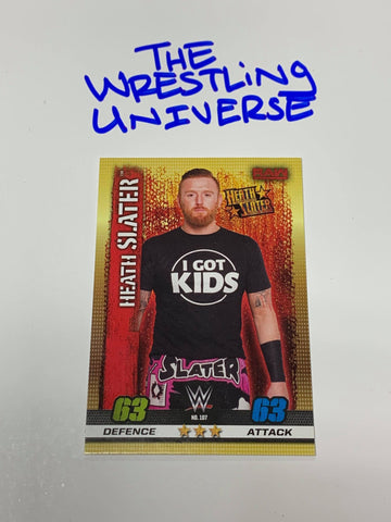 Heath Slater WWE 2017 Slam Atttax