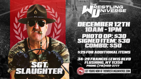 Sgt. Slaughter Elite Hall of Fame