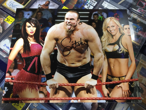 Snitsky Pose 2 Signed Photo COA