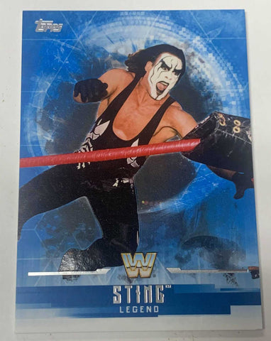 Sting 2017 Topps WWE Undisputed Card #68