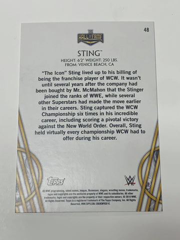 Sting Elite Hall of Fame