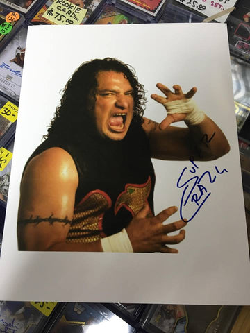Super Crazy Signed Photo Pose 2 COA