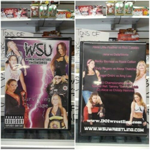 WSU Women Superstars Uncensored Surviving The Game DVD