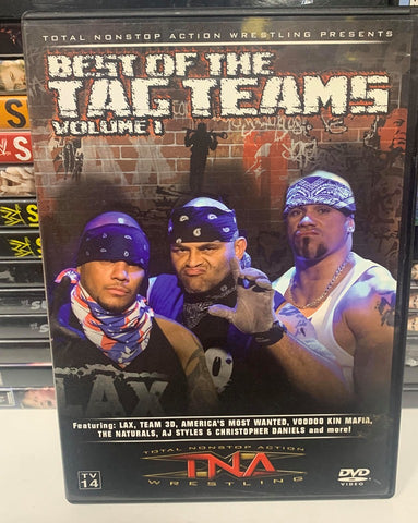 TNA Best of The Tag Teams Volume 1 DVD OOP