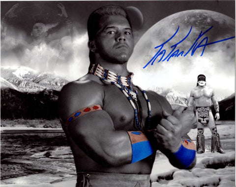Tatanka Pose 1 Signed Photo COA