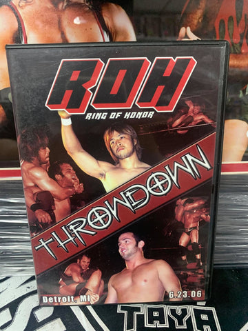 ROH Ring Of Honor Throwdown 6/23/06 Detroit, MI DVD OOP