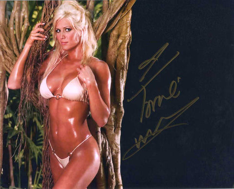 Torrie Wilson Pose 3 Signed Photo COA
