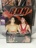 ROH Ring Of Honor Unscripted 9/21/02 REMASTERED DVD OOP
