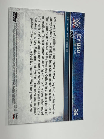 1st Ever Jimmy/Jay USO WWE Battle Pack (Very Rare)