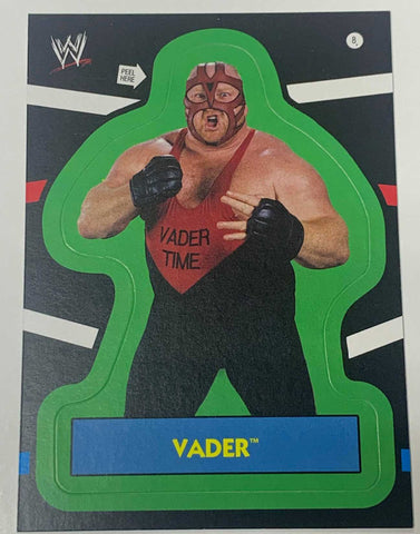 VADER WWE 2012 Topps Sticker Card