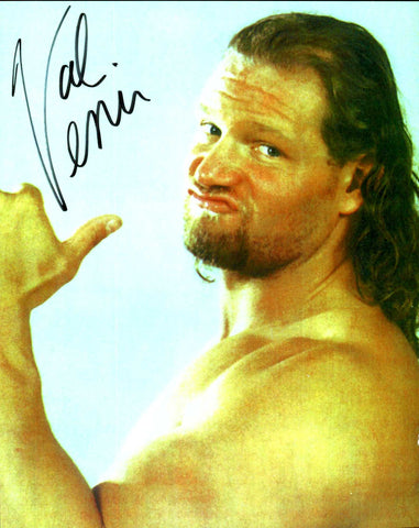 Val Venis Pose 1 Signed Photo COA