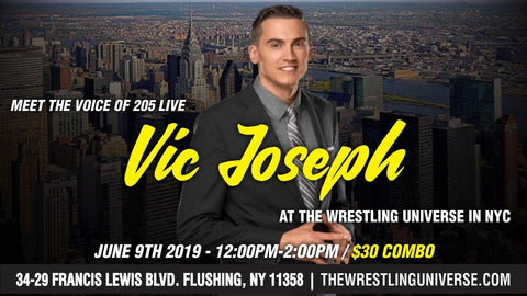 Meet The Voice of 205 Live Vic Joseph Sun June 9th from 12-2PM COMBO TICKET (TICKETS NOT MAILED)