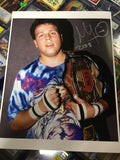 Mikey Whipwreck Pose 1 Signed Photo COA