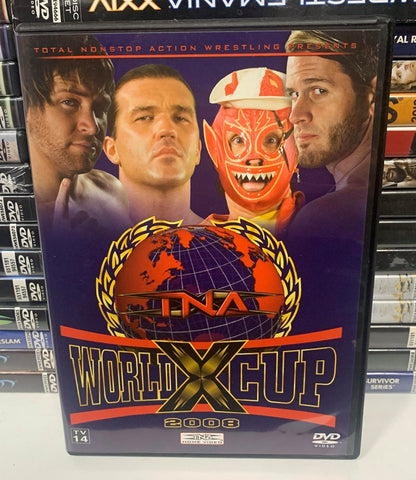 TNA World X Cup 2008 DVD