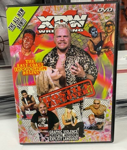 "XPW DVD ""Hostile Takeover"" 2002"