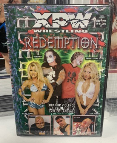 XPW DVD Redemption (Vampiro, New Jack)