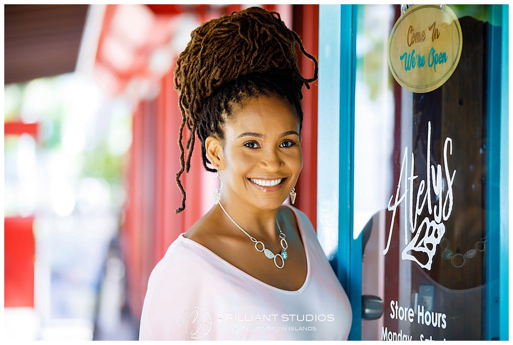 Meet the Artist: Atelys Adrian in Turks & Caicos