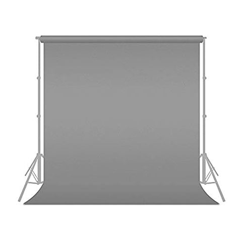 Julius Studio 6 ft X 9 ft Grey Chromakey Fabric Backdrop Background Screen, Photo Video Studio, JSAG105