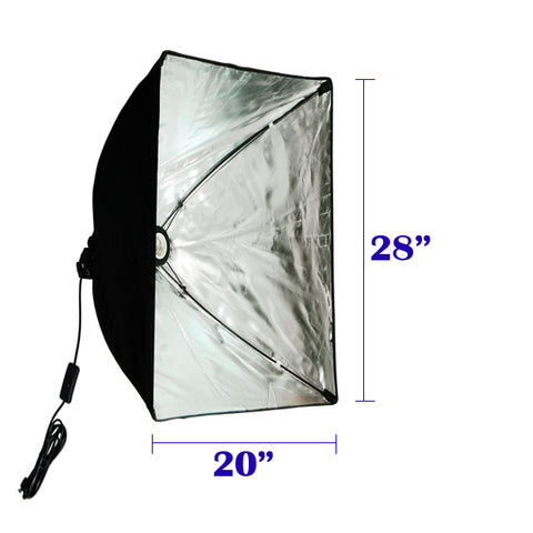 Rectangle Quick Setup Softbox w/ Socket