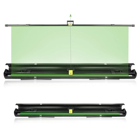 Julius Studio Collapsible and Retractable Green Chromakey