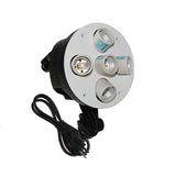 1000W Continuous 5 Head Softbox Light Socket
