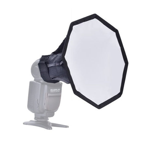 "6"" Portable Quick Setup Speedlite Octagona Diffuser Softbox"