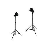 Photo Studio Reflector Continuous Lighting Kits, 240 or 500 Watt Output