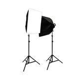 3000W Photo Studio Lighting Softbox Video Light Kit & Carry Case