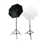 Photo Studio Soft Reflective Umbrella Continuous Lighting Kits, 400 Watt Output