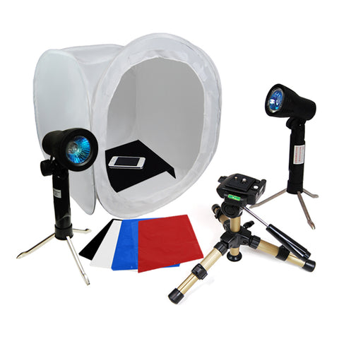 Photo Studio Table Top Lighting Kit