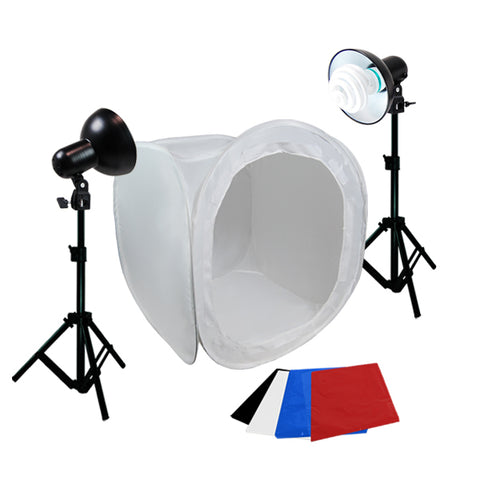 Photo Studio Table Top Lighting Tent Kit