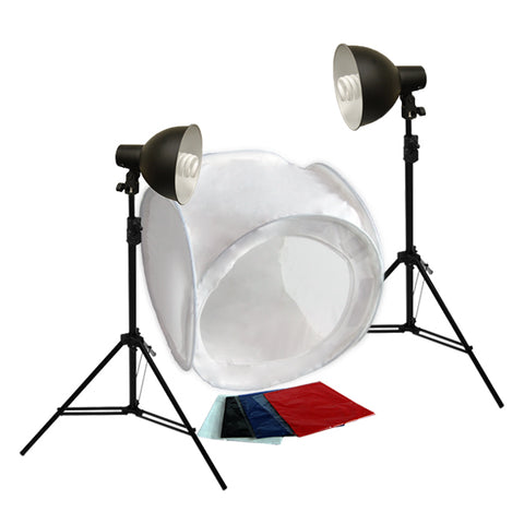 "Large Item Table Top Photography, Reflector Kit & 40"" or 48"" Tent Options"