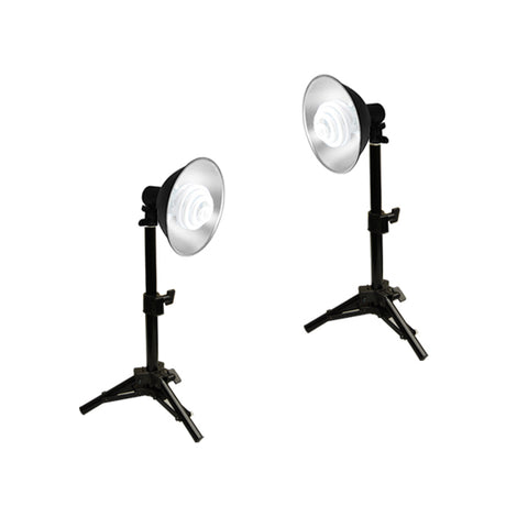 Photo Studio Reflector Continuous Lighting Kits, 240 or 600W Output