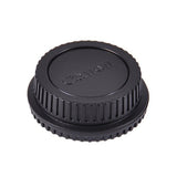 Front and Rear Lens Cap for Canon Body & Lens