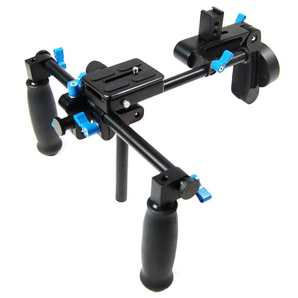 DSLR Rig Shoulder Mount Rig Support Rail System Steadycam Steady DSLR DV HDV