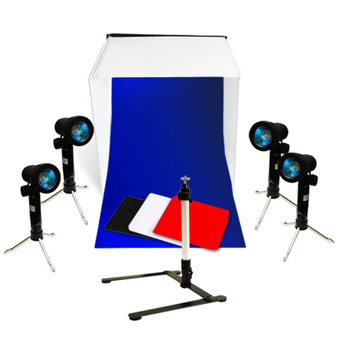 Table Top Photo Photography Studio Lighting Light Tent Kit in a Box