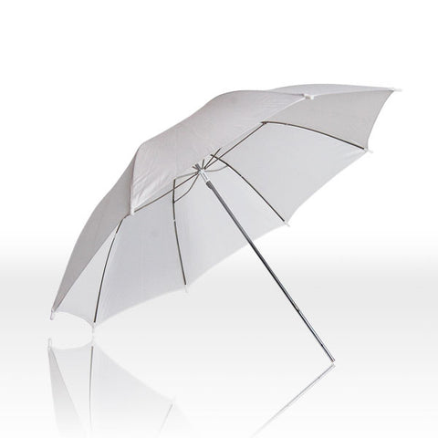 "33"" White Transparent Photo Umbrella Studio Reflecto"