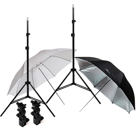 Flash Shoe Mount Umbrella Kit