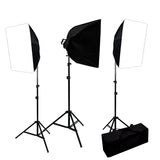 3000 Watt Digital Video Continuous Softbox Lighting Kit