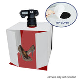 High Quality Top Opening Photo Studio Light Box w/ Reflector