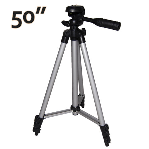 "50"" Portable Tripod for Camcorder and Camera fits all brand"