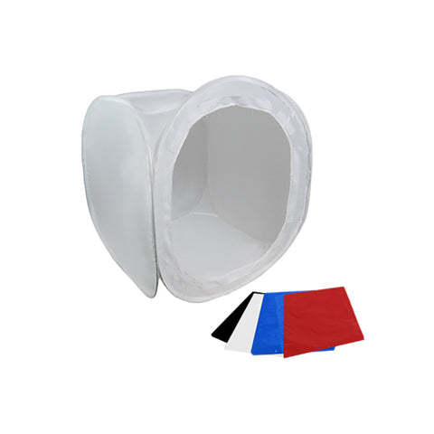 "Photo Tent Light Tent Softbox Cube w/ 4 Color Backdrops, 12"", 17"",  20"", 24"", 30"", 40"", 48"", 60"""