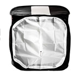 "24"" Black & White Photo Tent Lighting Cube w/ Backdrops for Product Photography"